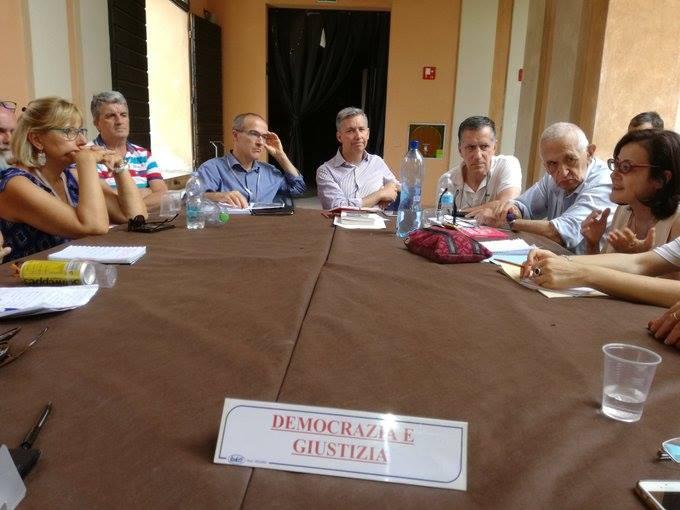 """Tavolo """"Democrazia e Giustizia"""" al Politicamp di Possibile"""